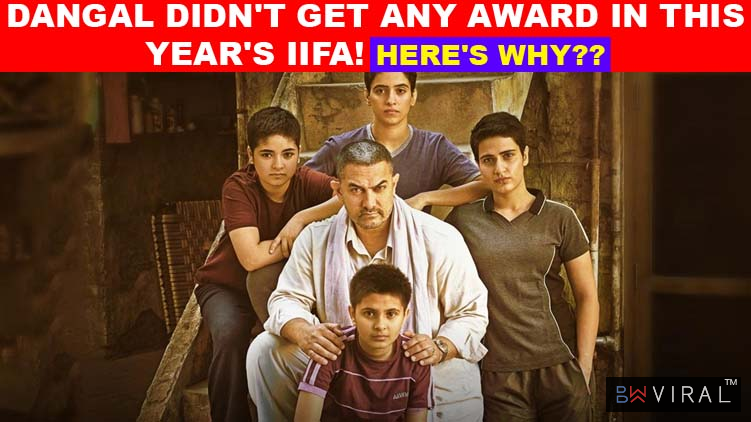 This Is The Reason IIFA Didn't Nominate Aamir Khan's Blockbuster Dangal In This Year's Awards