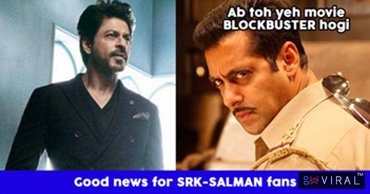 "Shah Rukh To Do A Cameo In Salman Khan Starrer ""Dabangg 3"". Read The Details"