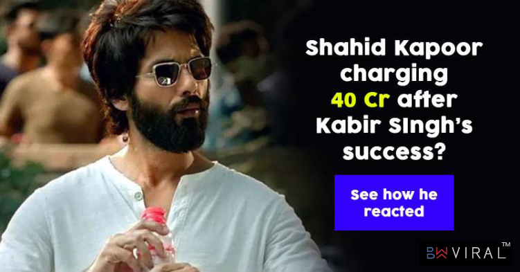 Did Shahid Kapoor Demand Rs 40 Crore For His Next Movie? Here's What Shahid Has To Say