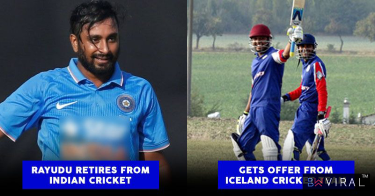 Iceland Offered Permanent Residence To Ambati Rayudu Post His Retirement Announcement