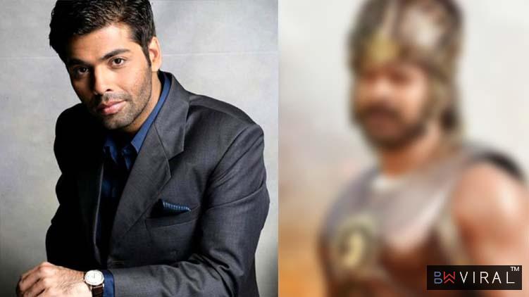 Karan Johar Is Determined To Launch Baahubali Star Prabhas In Bollywood.