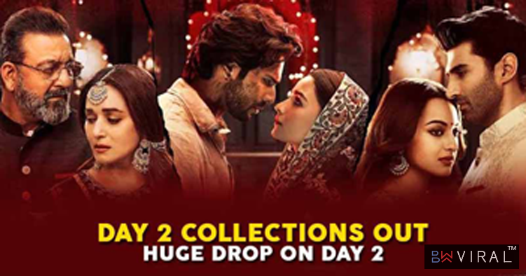 """Kalank"" Day 2 Collections Out. There's A Huge Drop & Figures Are Low Beyond Expectations"
