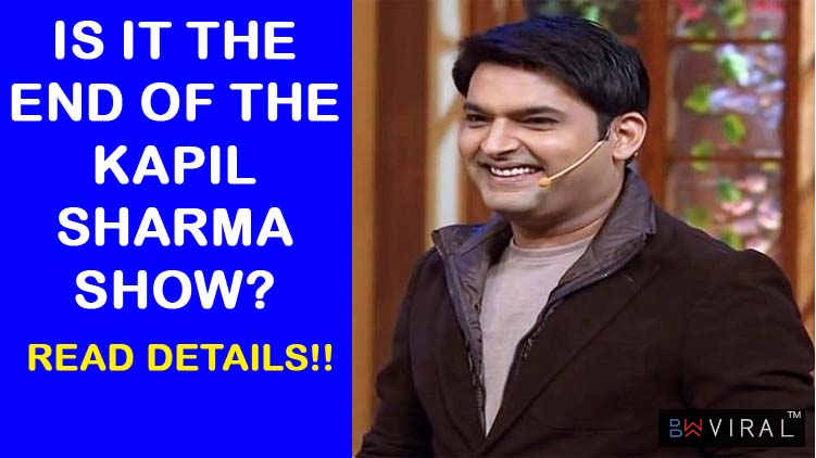 Is It The End Of The Kapil Sharma Show? Read How The TRPs Have Hit A New Low!