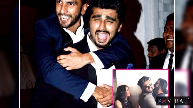 Proof That Ranveer Singh Is Arjun Kapoor's 'Half Girlfriend' Not Shraddha Kapoor. 2017
