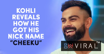 "Kohli Reveals The Story Behind His Nickname ""Cheeku"" & How Dhoni Made It Popular"