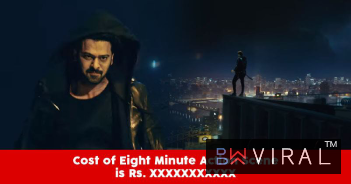 You Will Be Surprised To Know How Much This 8 Minute Action Sequence In Saaho Cost