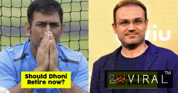 Virender Sehwag Opened Up About MS Dhoni's Retirement In A Panel Discussion