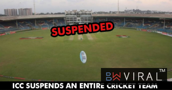 This Team Gets Suspended By ICC After Breach Of Constitution