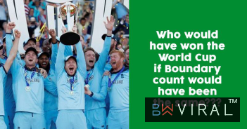 ICC World Cup 2019: What If The Boundary Count Had Ended Up As A Tie