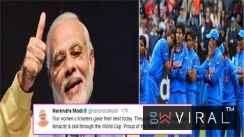 The PM's Trail: Narendra Modi consoles #WomenInBlue