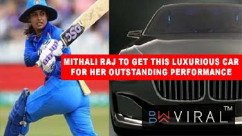 Woahh! Mithali Raj To Get This Luxurious Car For Her Outstanding Performance In Cricket!