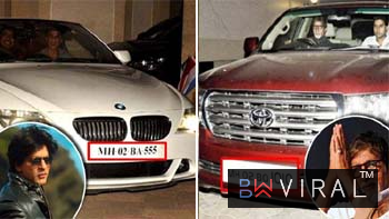 Even Educated & Successful Bollywood Stars Are Superstitious & Their Cars' Number Plates Prove It!