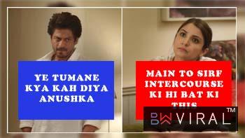ANUSHKA SHARMA LEAVES SRK SPEEECHLESS WITH INTERCOURSE TALK ON 'JAB HARRY MET SEJAL'