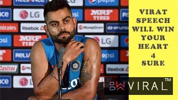 Indian Captain Virat Kohli Speaks About Loss